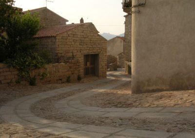 particolare del centro storico di Aggius