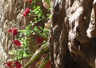 centro storico di Aggius, in Gallura, Sardegna: dettaglio