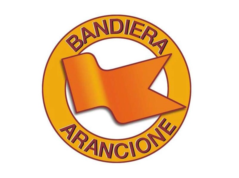 Bandiera Arancione, awarded by Touring Club