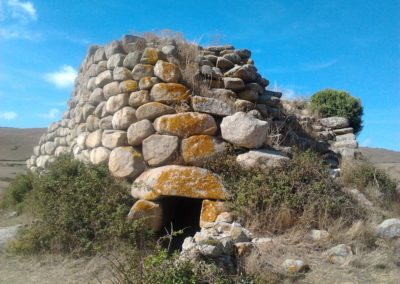 nuraghe Izzana, ad Aggius, in Sardegna