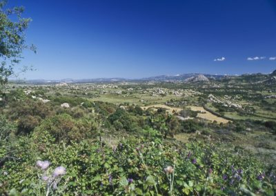il paesaggio della Valle della Luna di Aggius, in Sardegna