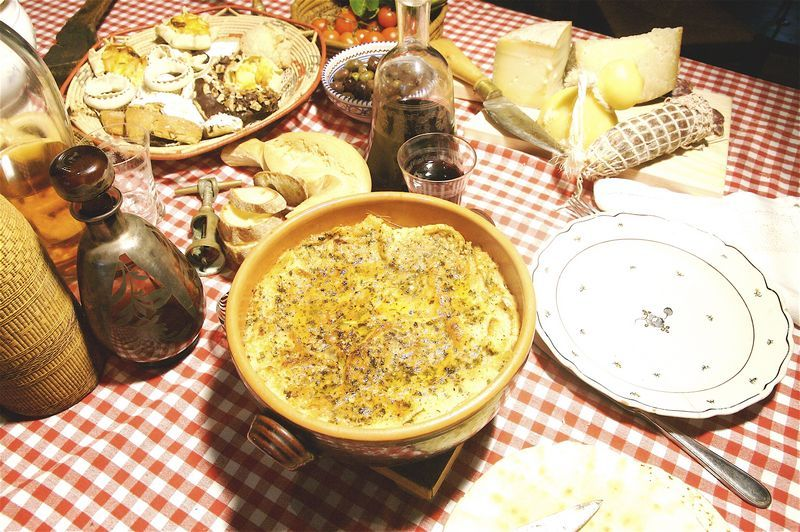 ancient cuisine of Aggius, Sardinia