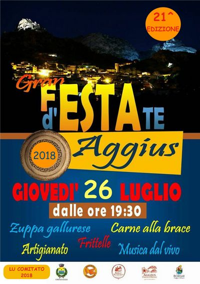 Aggius: XXI Grand Summer Festival